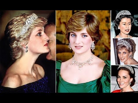 The pearls and glittering diamonds that were Diana's best friends. A girl's best friend!