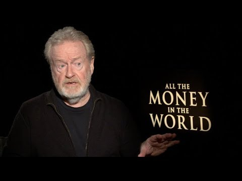 ALL THE MONEY IN THE WORLD s  Ridley Scott, Christopher Plummer, Wahlberg, Williams