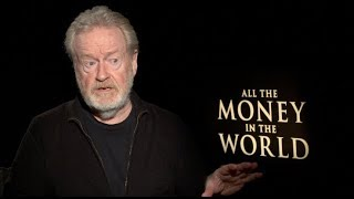 ALL THE MONEY IN THE WORLD interviews - Ridley Scott, Christopher Plummer, Wahlberg, Williams