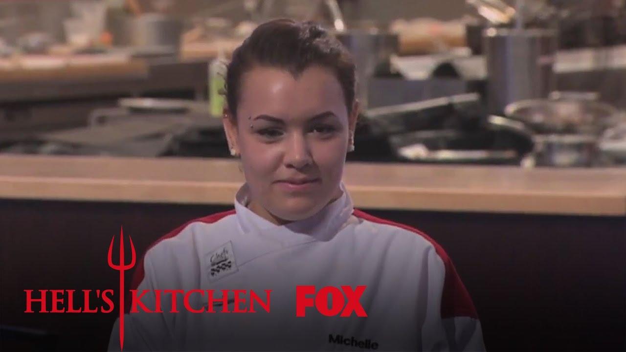 badass michelle | season 14 ep. 8 | hell's kitchen - youtube