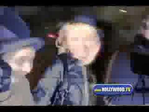 Paris Hilton & Christine Larkin Make Big Arrival a...