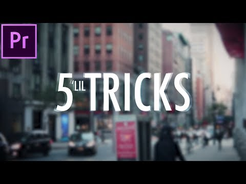 5 Little Video Editing Tricks that make a BIG Difference! (Adobe Premiere Pro CC Tutorial / How to)