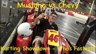 REVan Evan MM&FF Karting Showdown - You Gotta Hear the Smack Talk and See Who Came Out On Top!
