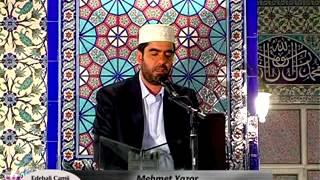 Bursa Edebali camii Kuran ziyafeti Mehmet Yazar