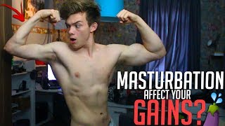 Does Masturbation Affect Your MUSCLE GAINS? (Testosterone, S3X, Killing Your Gains?)
