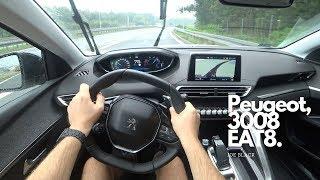 Peugeot 3008 1,5 BlueHDi 130 HP EAT8 | 4K POV Test Drive
