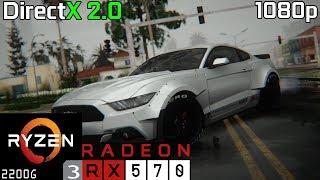 GTA San Andreas SA DirectX 2 0 RX 570 Ryzen 3 2200G 8GB RAM