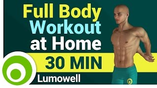 Full Body Workout at Home Without Equipment