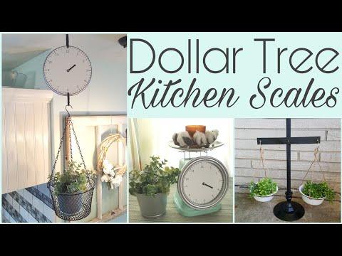 Dollar Tree Kitchen Scale DIYs