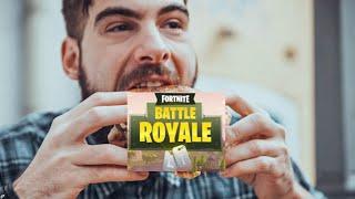 Fortnite Gameplay voor dat we gaan eten
