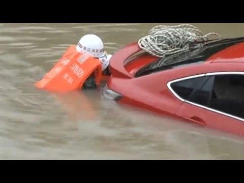 Cina: il tifone Dianmu, l