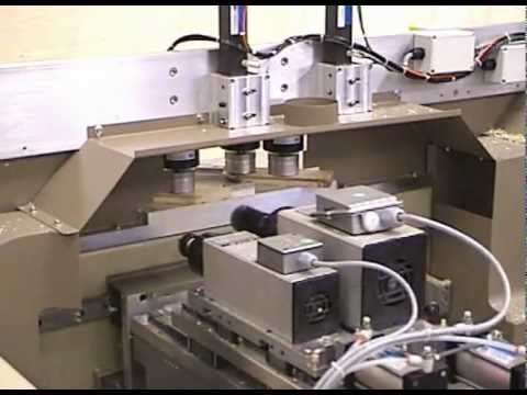 Accu Systems Mmtx Miter Cabinet Door Machine 2005 Youtube