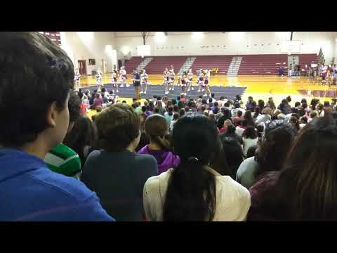 September Floresville Middle School Pep Rally Part 1
