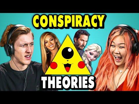 Craziest Pop Culture Conspiracy Theories  | The 10's (React)