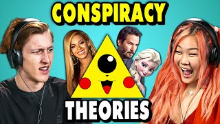 Download Craziest Pop Culture Conspiracy Theories    The 10s (React) Mp3 and Videos
