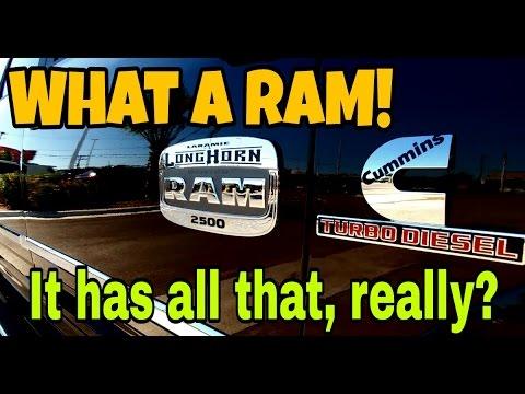 2017 RAM Laramie Longhorn 2500 Cummins! Nice truck!