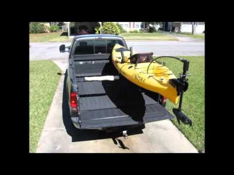 Low Profile Kayak Rack For A Truck Part 1 Amp 2 Drawings