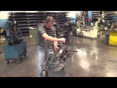 Hossfeld Bender Set Up for the Mechanic Stool