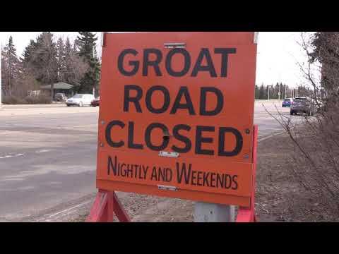 Groat Road Closure