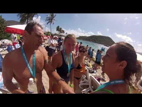 St Kitts / Nevis Cross Channel Swim 2017