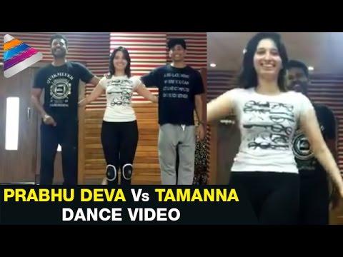 Prabhu Deva vs Tamanna Dance Practice  ...