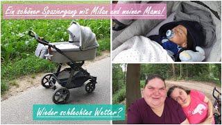 Spaziergang mit Baby Milan! || Was war los? || Reborn Baby Deutsch || Little Reborn Nursery