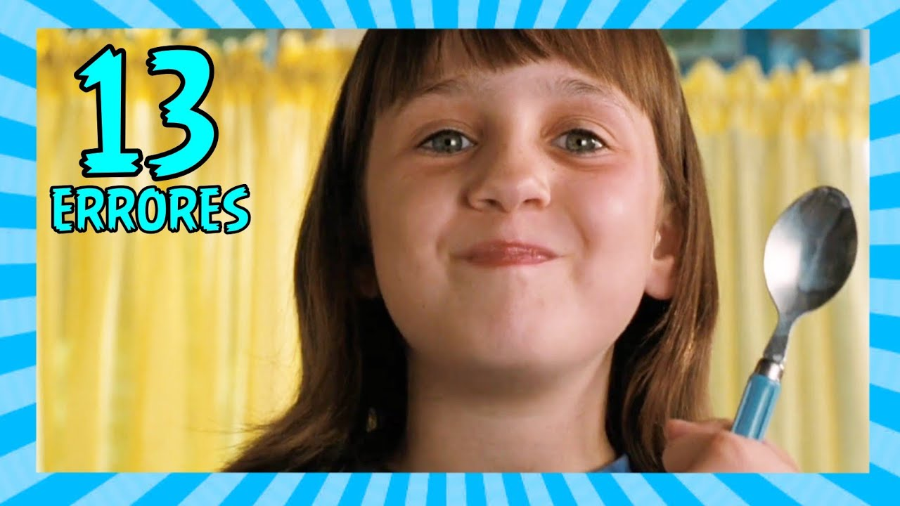 13 Errores en MATILDA que Quizás no Notaste (Movie Mistakes)