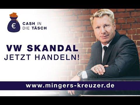 VW Skandal - Verjährung droht zum 31.12.17 - Jetzt noch Rechte sichern!