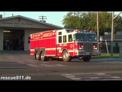 Heavy Rescue 21 + Battalion 13 Sacramento Metro Fire District