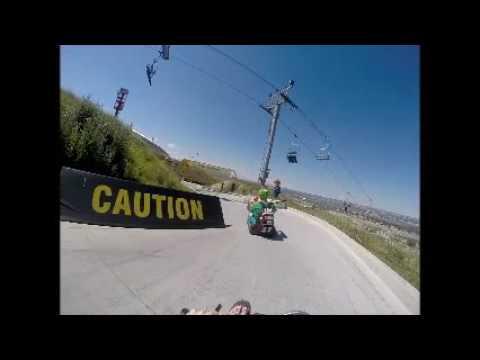 Calgary Olympic Park Luge Run