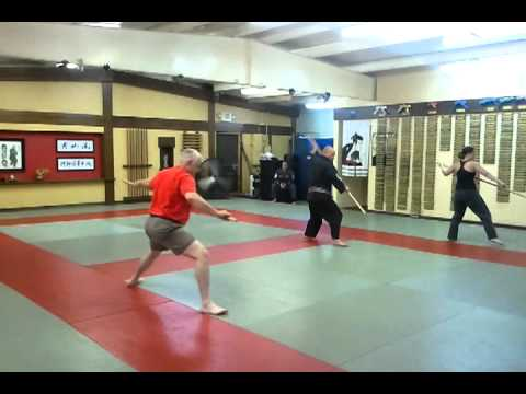 Kung Fu Kata Right Hand Stick