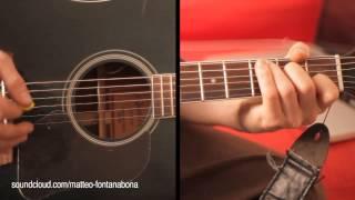 guitar lesson -  rhythm country 2/2 (chords c g )