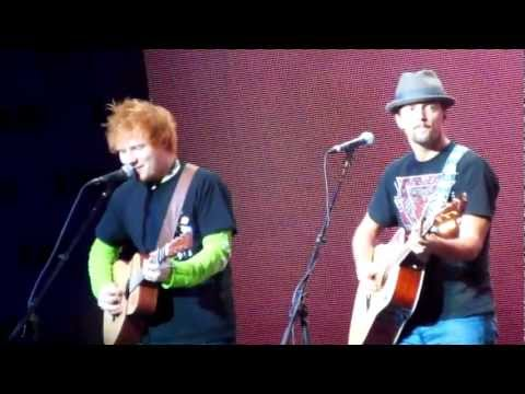 Ed Sheeran And Jason Mraz Never Before Seen DUET! HD
