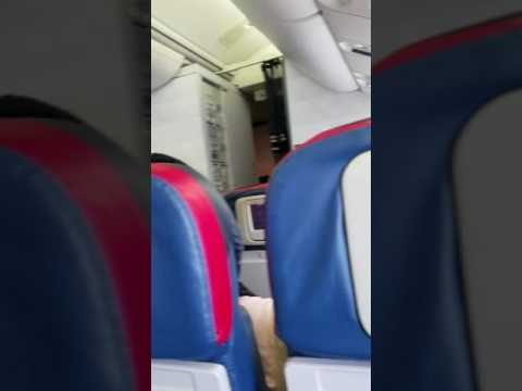 Delta airline flight DL 0220 takes off from Accra Ghana