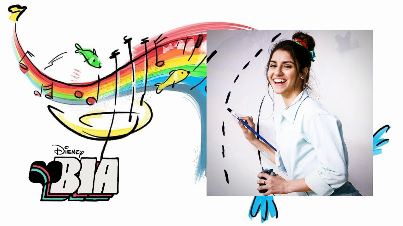 Dibujos Para Colorear De Bia Disney Channel