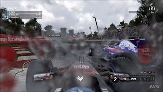 F1 2017 - Rain Gameplay (PC HD) [1080p60FPS]