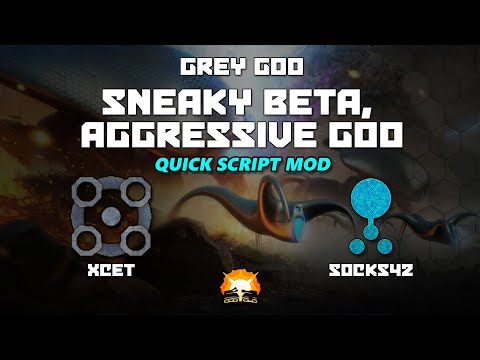 Grey Goo: Sneaky Beta, Aggressive Goo - XCet (Beta) vs Awesomesocks42 (Goo)  