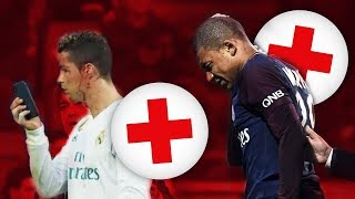 10 HORRIBLES BLESSURES DE GRANDS JOUEURS !