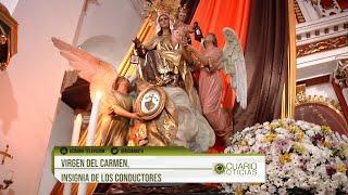 Virgen del Carmen, insignia de los conductores