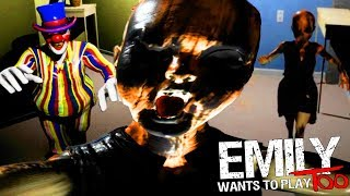 CHASED BY A TERRIFYING HAUNTED LITTLE GIRL!   Emily Wants To Play Too (Part 1 FULL RELEASE)