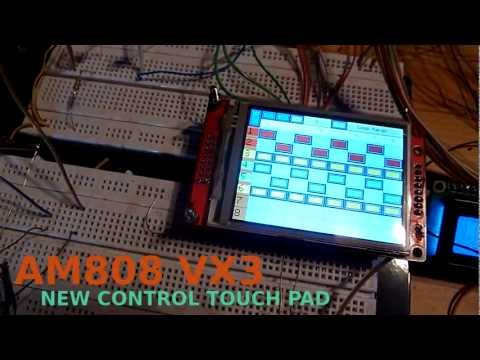 Arduino Midi Sequencer AM808 VX3 - PS2 Touchpad  (30.12.2012)