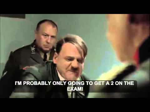 Hitler takes the AP Physics 1 Exam