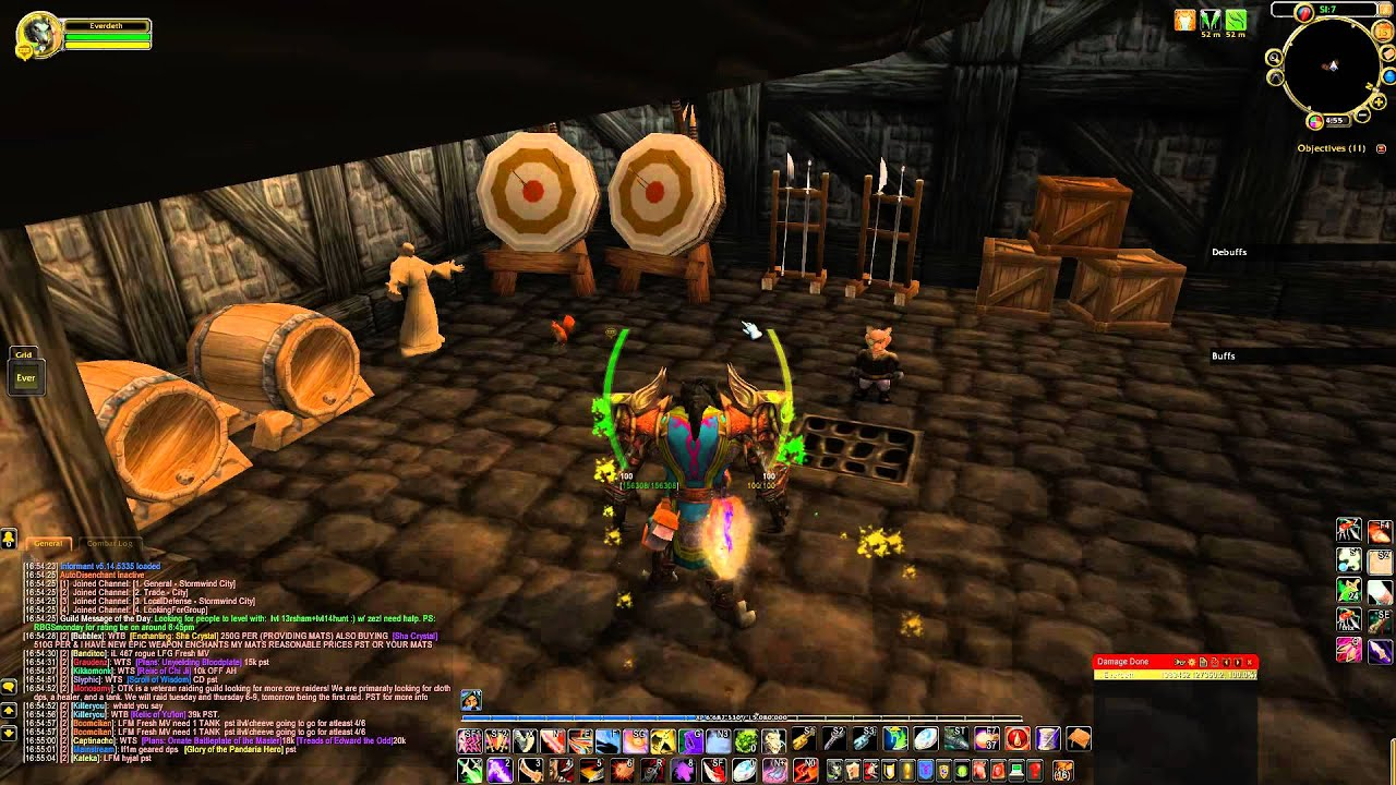 WoW: My Addons for Mists of Pandaria (MoP) 1080p
