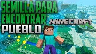 Semilla para encontrar un pueblo en tu mundo Minecraft 1.6.4