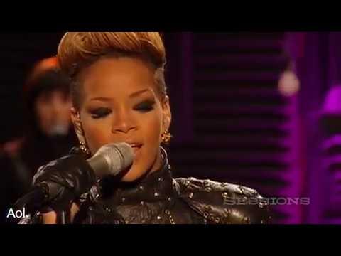 Rihanna- Rihanna Take A bow  AOL Session...
