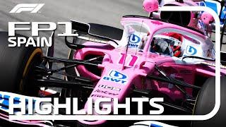 2020 Spanish Grand Prix: FP1 Highlights
