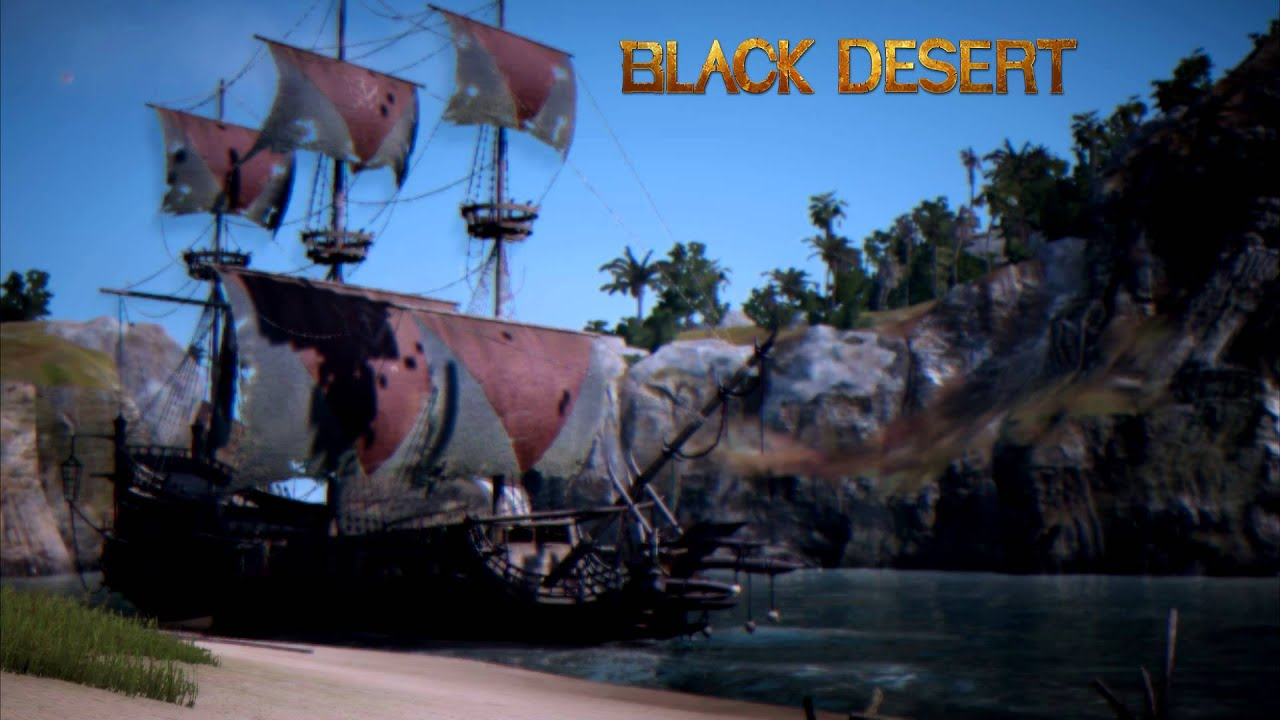 Black Desert Pirate Island