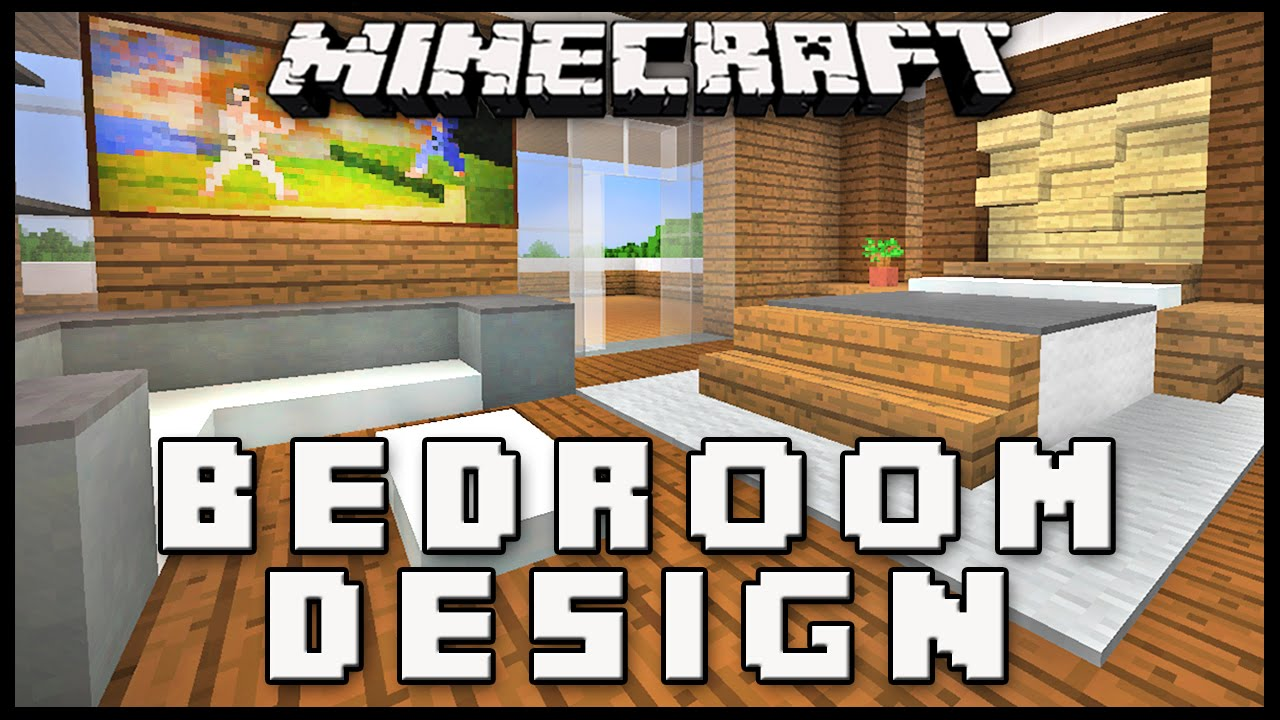Minecraft How To Make A Master Bedroom Design Modern