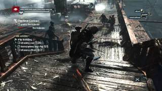 AC4 Black Flag - Final Naval Mission / Unlocks the Golden flintlock Pistols & other stuff. //PC