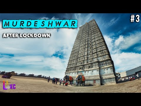Murudeshwar Temple & Gokarna Middle Beach #Travel Video #3 || After Lock Down 2021 || #L3WithKC